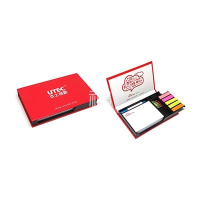 可定制便签本/便利贴/笔/回形针/五色索引条套装