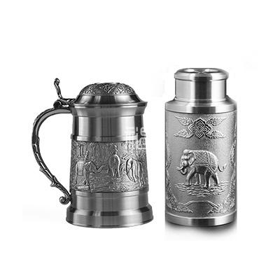 纯锡茶具套装茶杯茶叶罐商务礼品
