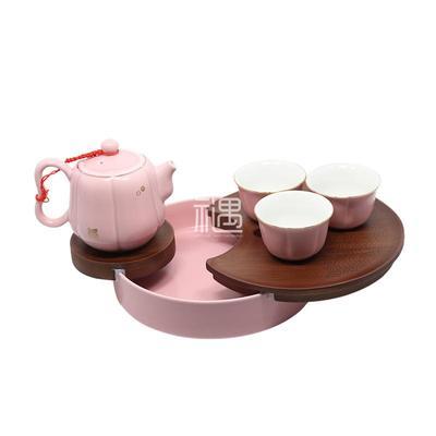 定窑陶瓷茶具茶杯佛手商旅套餐商务礼品