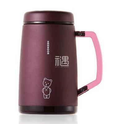 不锈钢保温杯办公室泡茶杯带手柄水杯