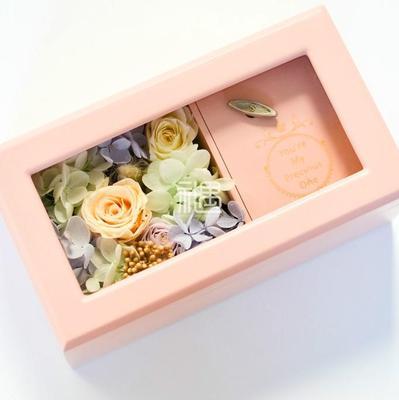 CLAIRE克莱尔创意永生花音乐盒-花好月圆 情人节礼物