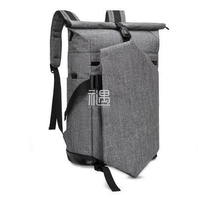 多功能创意时尚可扩容15寸牛津布电脑背包户外商旅
