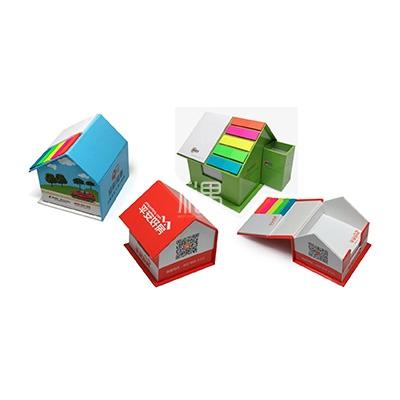 可定制创意房形便签盒