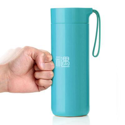 创意蝴蝶保温不倒杯水杯商务礼品员工福利