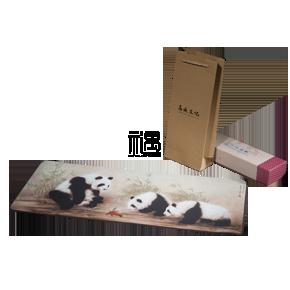 丝绸办公置物垫鼠标垫商务礼品员工福利