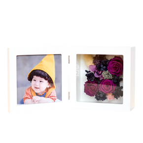 CLAIRE克莱尔创意永生花折叠相框-深深爱你 情人节礼物