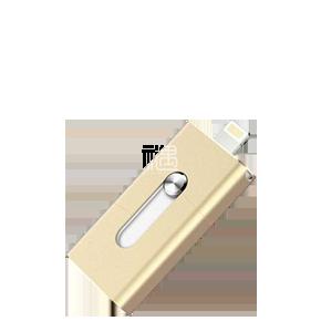 创意素色苹果手机U盘商务礼品员工福利